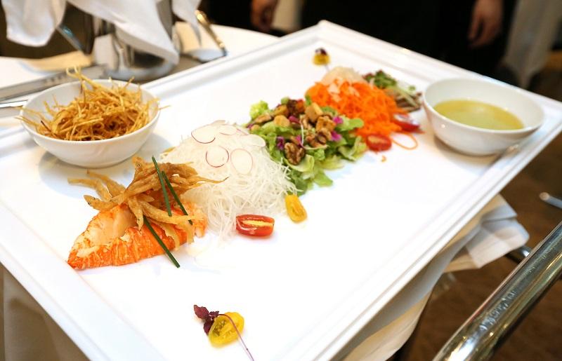 新明50特色佳肴是由50种材料组成。(陈佩敏 摄影)