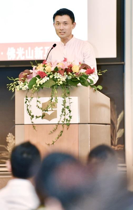 文化、社区及青年部政务次长马炎庆今早为论坛开幕与致辞。