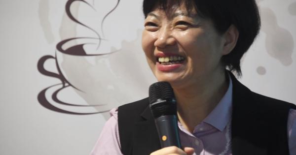 主讲人郭慧娟。